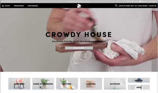 Crowdyhouse.com is TOP!