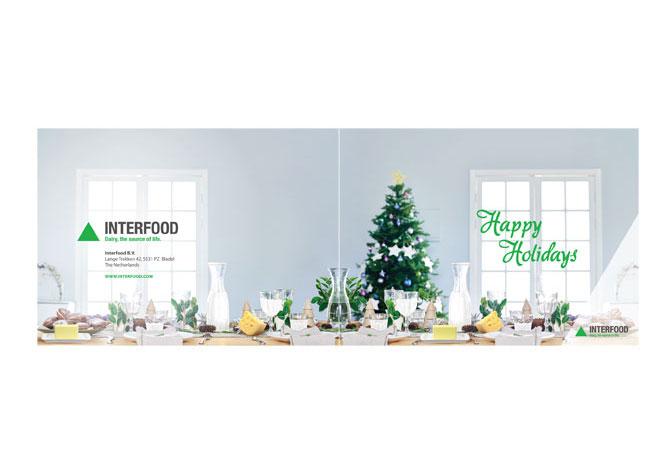 Interfood Kerstkaart